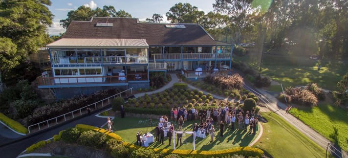 Wedding at Headland Golf Club