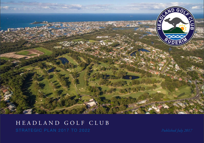 Headland Golf Club Strategic Plan