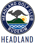 Headland Golf Club, Sunshine Coast Sticky Logo